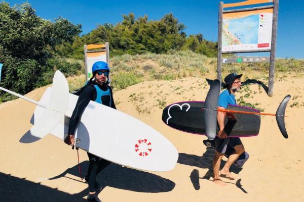 Cours particulier de kitefoil pOléron