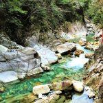 長野県南木曽の柿其渓谷が美しい!展望台から大桑村の絶景が最高