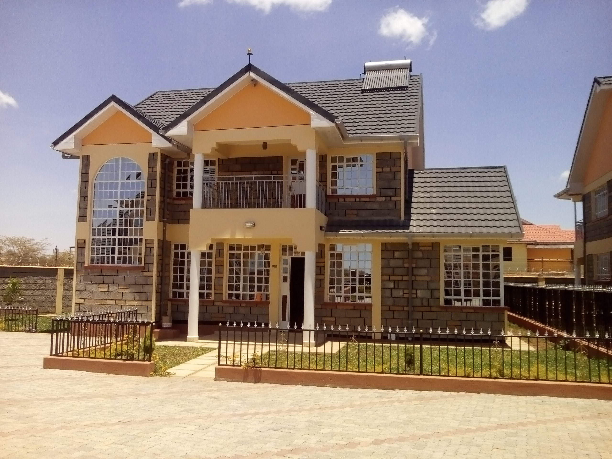 4 bedroom maisonette house plans kenya house plans for Design for house