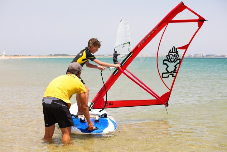 Lagos windsurfing