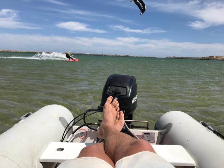 Nortada kitesurf Algarve