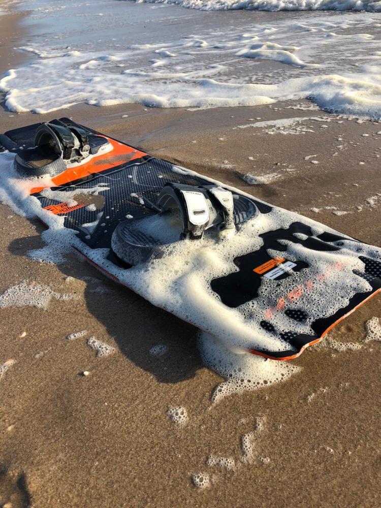 Verloren kiteboard