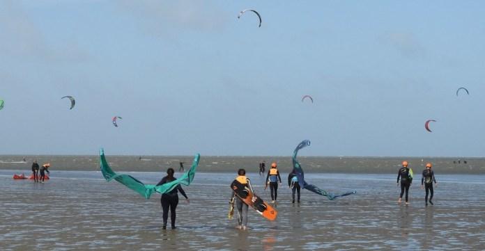 hoe verloopt kitesurfles