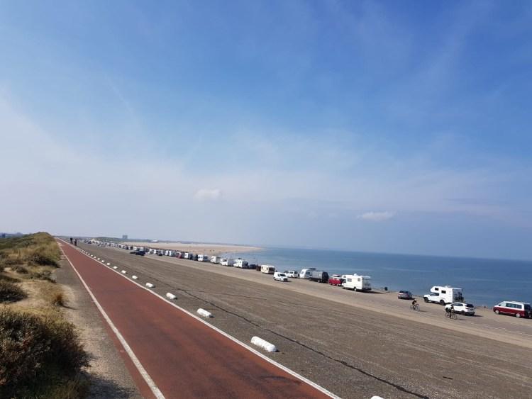 kitesurfen-brouwersdam-parkeren
