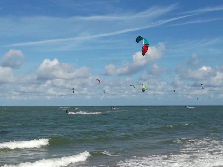 Kitesurfen Brouwersdam, een kitespot in Zeeland