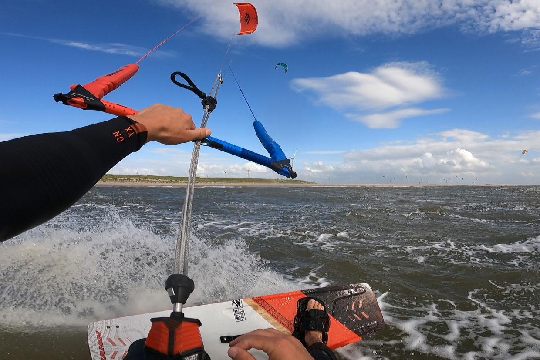 Kitesurfen oktober in Nederland