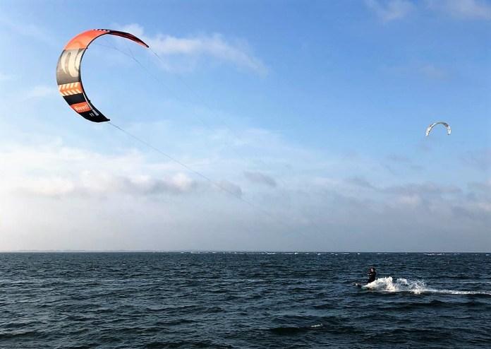 Kitesurf set tweedehands kopen