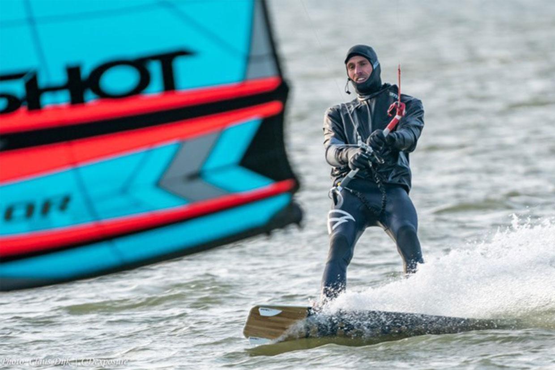 Gevoelstemperatuur kitesurfen met de wind chill factor