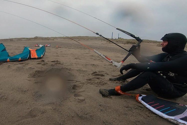 Kitesurfen januari