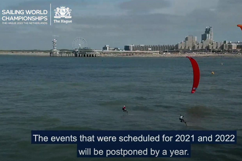 WK Zeilen en WK Jeugdzeilen met kitesurfen Scheveningen