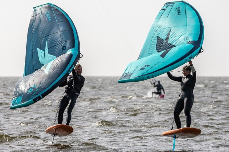 Wingsurfen snel populairder dan kitesurfen en windsurfen