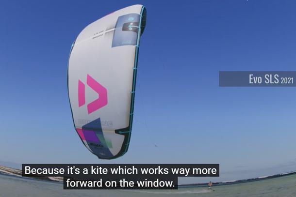 Duotone Evo SLS geschikter voor kitefoilen dan de Rebel