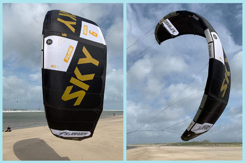 Fluid Kiteboarding Sky v4 review