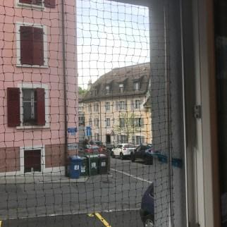 filet de sécurité sans percer les murs