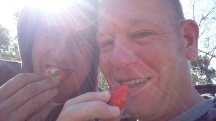 Erdbeeren im Januar :cool: