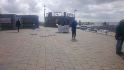 Selbst die Strandkörbe machten sich selbständig...