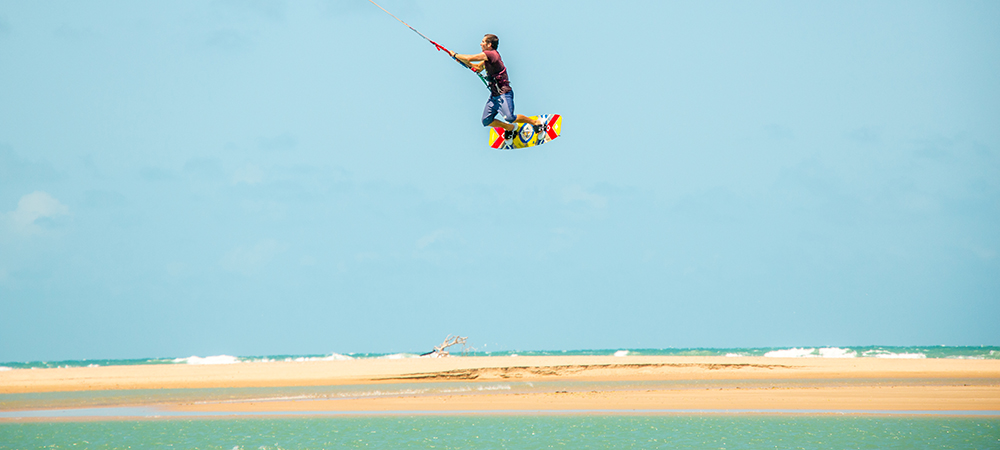 Move of the kitesurf