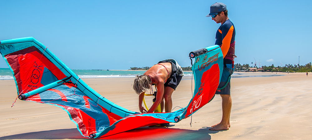 Kitesurf center in Icarai de amontada Brazil