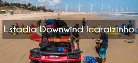Downwind Icarai de Amontada kitesurf com kitexperiment