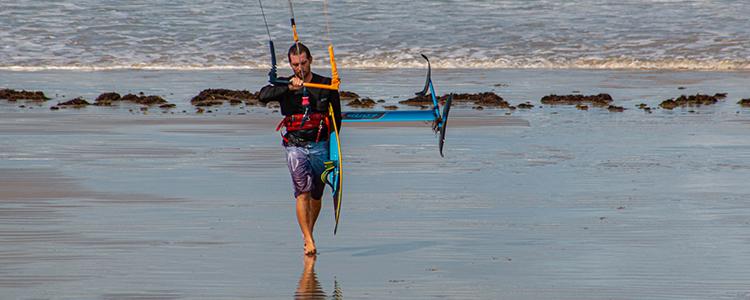 the hydrofoil fone kite