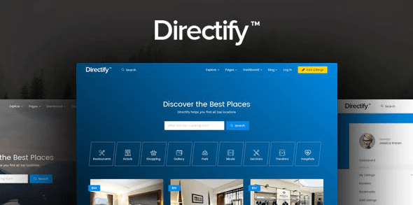 ThemeForest - Directify v1.0.3 - Directory HTML Template - 20218045