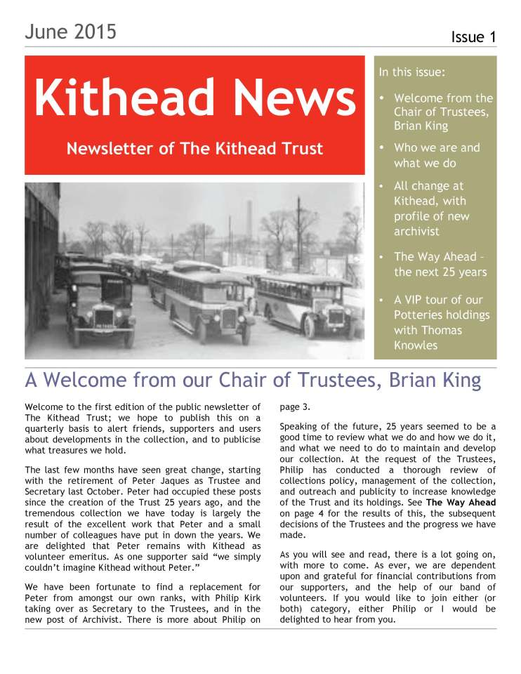 Kithead Newsletter 1 June 2015