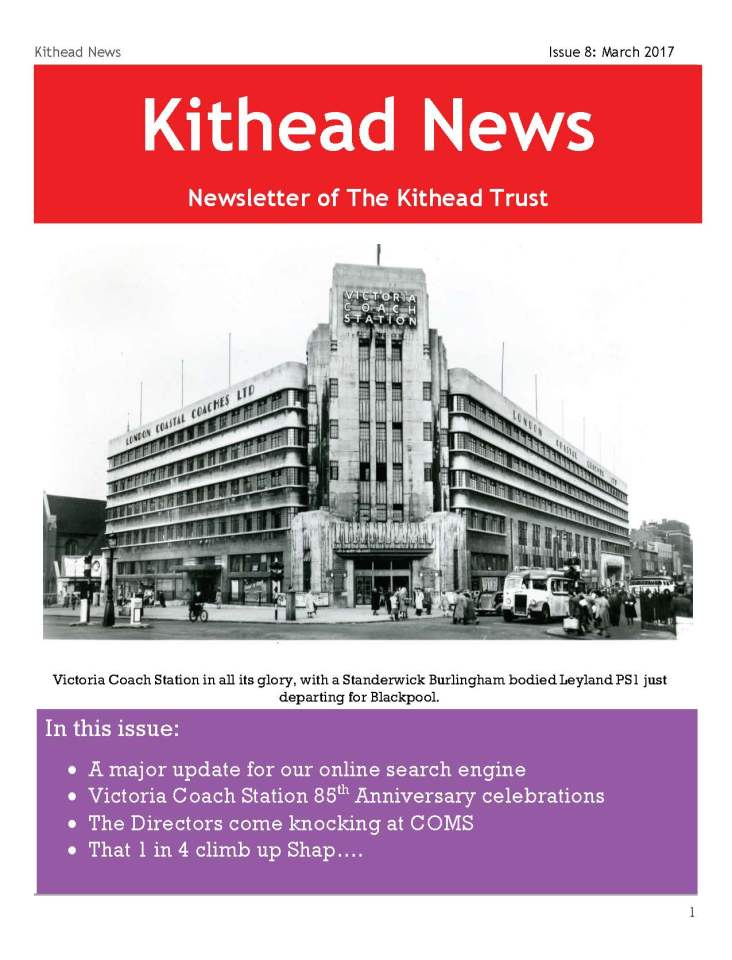 Kithead Newsletter 8 March 2017