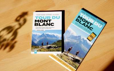 Review: Tour Du Mont Blanc Guidebook and Map
