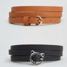 ASOS Curve cat buckle belt