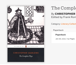 Complete Marlowe Penguin Classics