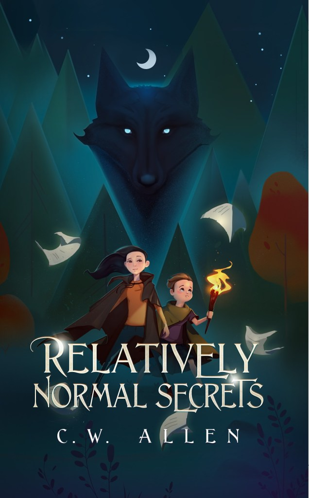 cover of Relatively Normal Secrets by C.W. Allen