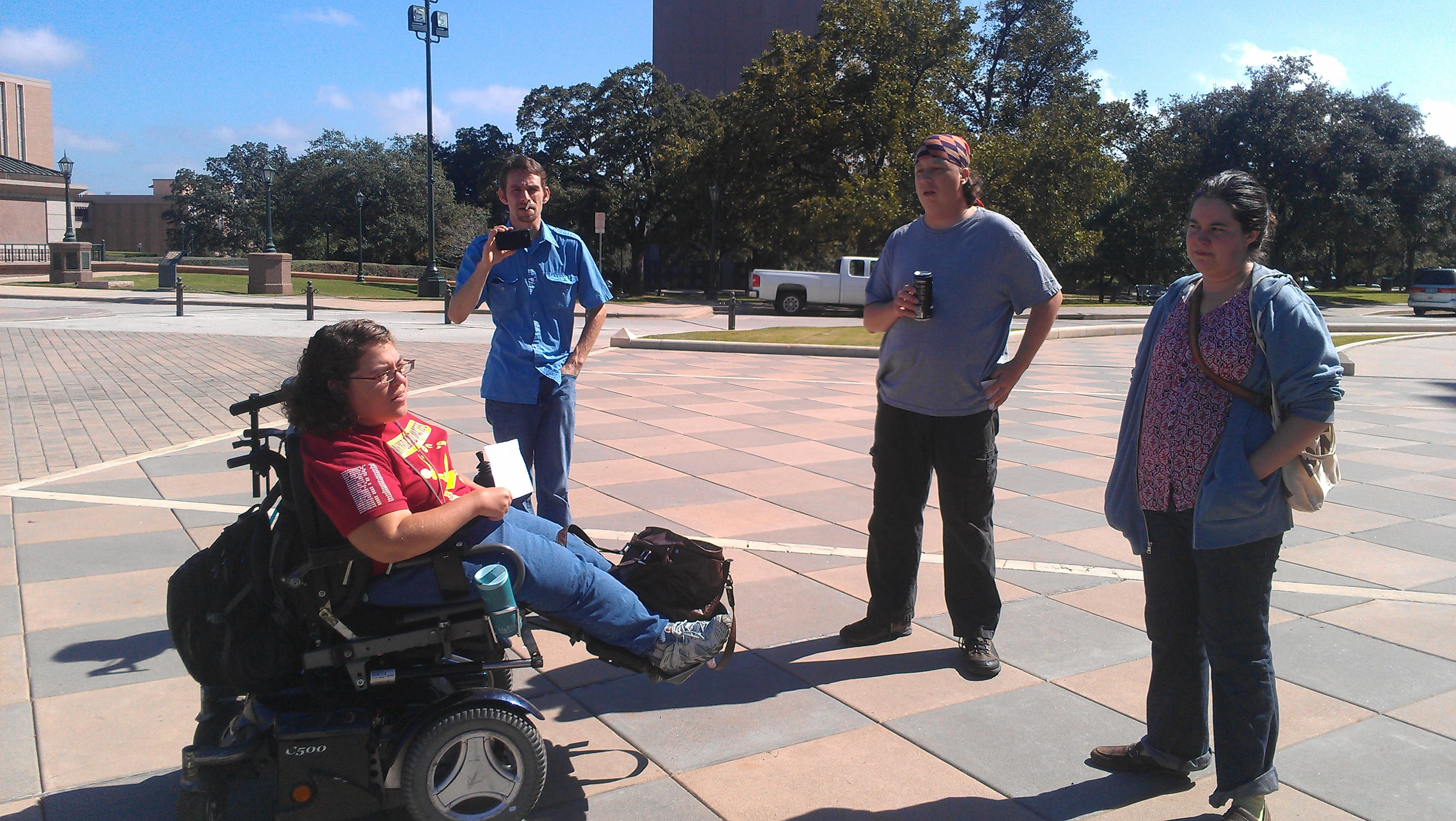 Occupy Austin members