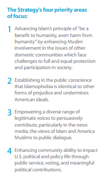 """Confronting Fear"" offers a 4-point strategy for opposing Islamophobia and change the way Muslims are treated in society & the media. (Screenshot)"