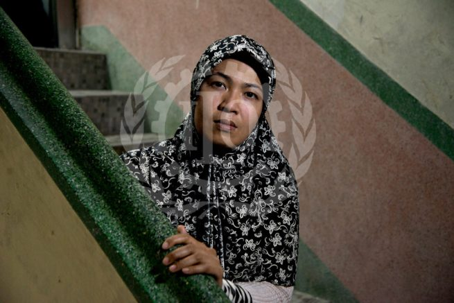 Siti, a domestic worker from Indonesia, faced abuse and mistreatment in Saudi Arabia, Oman and Hong Kong. March 1, 2014. (Flickr / ILO in Asia and the Pacific)