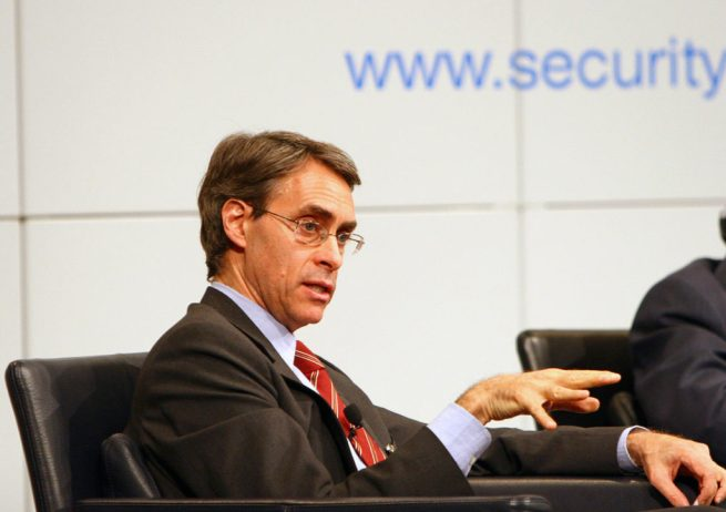 Kenneth Roth, director of Human Rights Watch, at Munich Security Conference on February 5, 2011. (Wikimedia Commons / Harald Dettenborn)