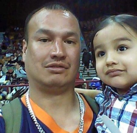 Paul Castaway, left, a citizen of the Lakota Nation, was shot and killed by police on July 12. (Facebook)