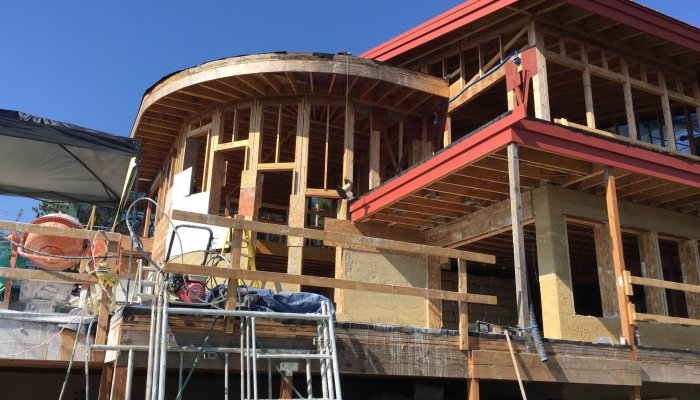 The Highland Hemp House in Bellingham, Washington is a unique hempcrete retrofit. This 1960s home is being completely remodeled with hemp, becoming healthier, more sustainable, and carbon-negative along the way. (