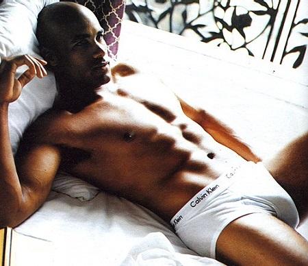 boris kodjoe shirtless