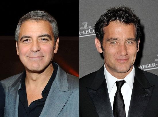 4 George Clooney Clive Owen