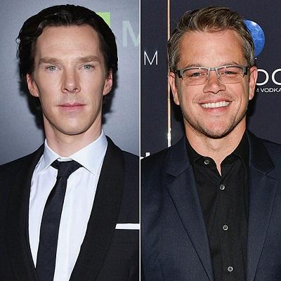 6 Benedict Cumberbatch Matt Damon