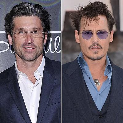 7 Patrick Dempsey Johnny Depp