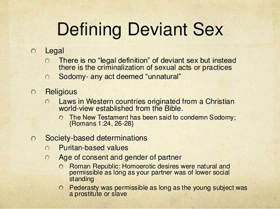 Sexuality definition ppt