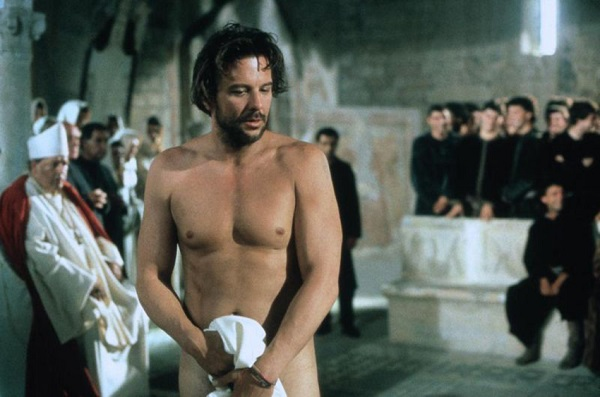 Mickey Rourke as St. Francis of Assisi in the movie, Francesco