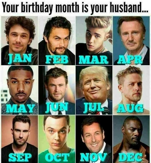 Photo: Your Birth Month Is Your Future Husband – KitoDiaries