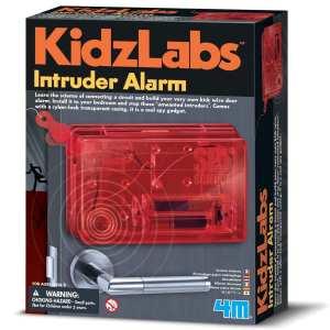 ערכת מדע לילדים – קיט חשמל אזעקה לחדר 4M