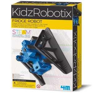 ערכת יצירה לילדים בנו רובוט מטפס על מקרר 4M