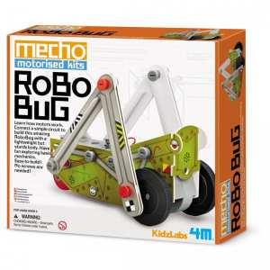 ערכת רובוט ממונעת – רובוט חרק להרכבה 4M