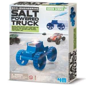 ערכת יצירה לילדים ג'יפ מונע מים מלוחים 4M