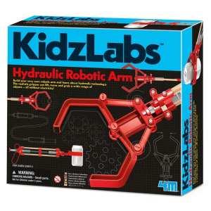 ערכת בניה לילד יד רובוטית הדראולית להרים להזיז לאחוז ללא חשמל