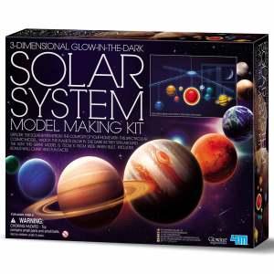 מובייל מערכת השמש תלת מימדי – סט קל להרכבה מבית 4M